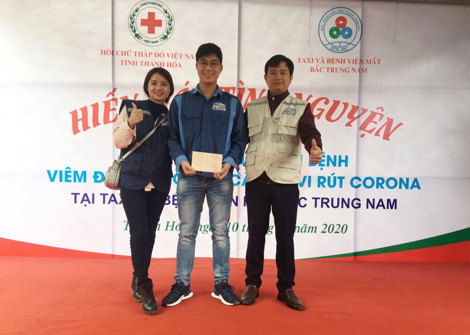 hiến máu tình nguyện đợt dịch corona 2020